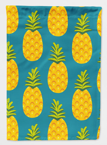 Buy this Pineapples on Teal Flag Garden Size BB5145GF