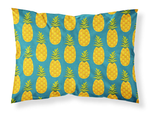 Buy this Pineapples on Teal Fabric Standard Pillowcase BB5145PILLOWCASE