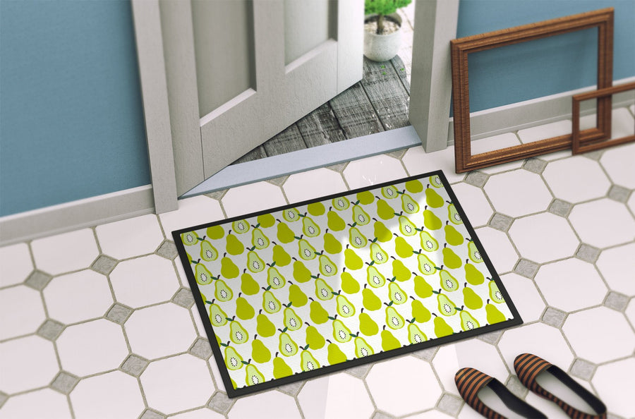 Buy this Pears on White Indoor or Outdoor Mat 24x36 BB5147JMAT