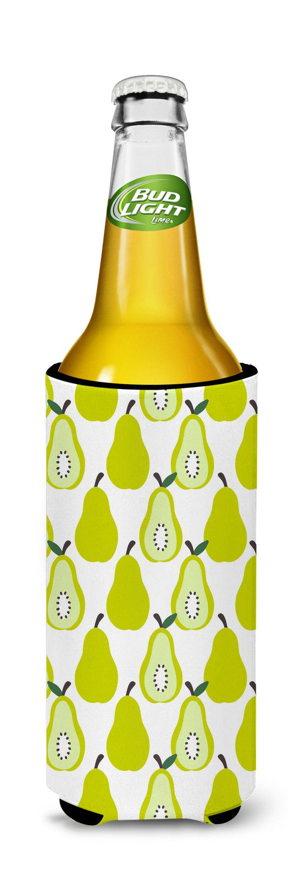 Pears On White Michelob Ultra Hugger For Slim Cans