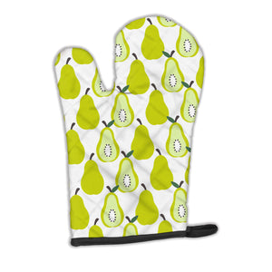 Buy this Pears on White Oven Mitt BB5147OVMT