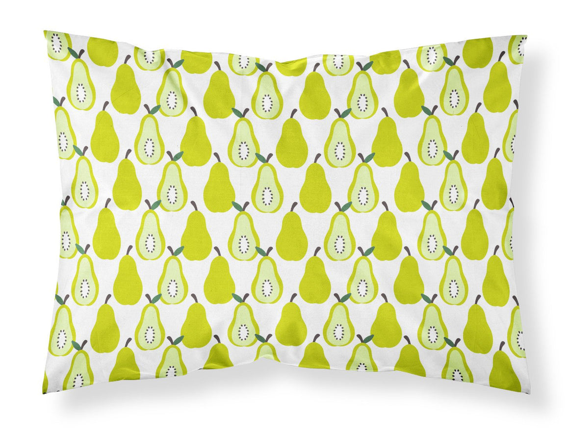 Buy this Pears on White Fabric Standard Pillowcase BB5147PILLOWCASE