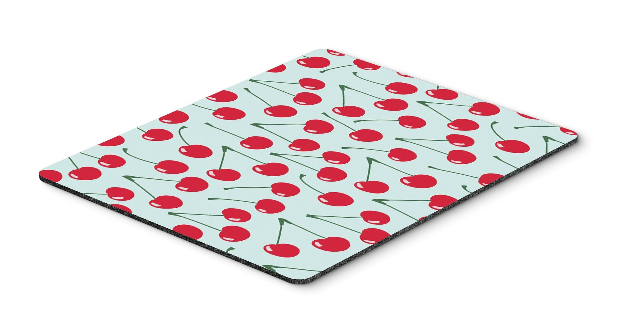 Cherries on Blue Mouse Pad, Hot Pad or Trivet BB5148MP by Caroline's Treasures