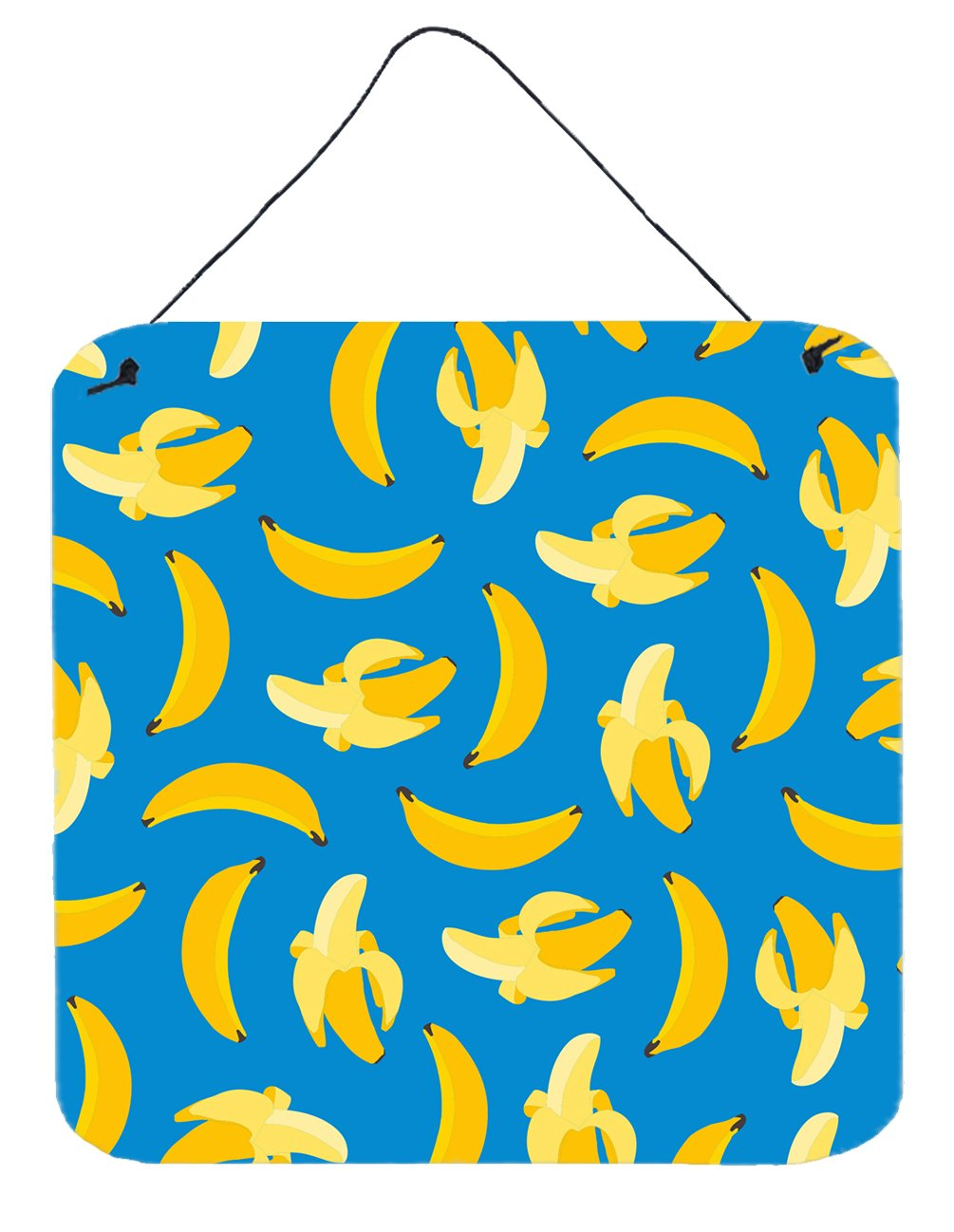 Buy this Bananas on Blue Wall or Door Hanging Prints BB5149DS66