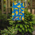 Bananas on Blue Flag Garden Size BB5149GF by Caroline's Treasures