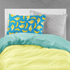 Bananas on Blue Fabric Standard Pillowcase BB5149PILLOWCASE by Caroline's Treasures