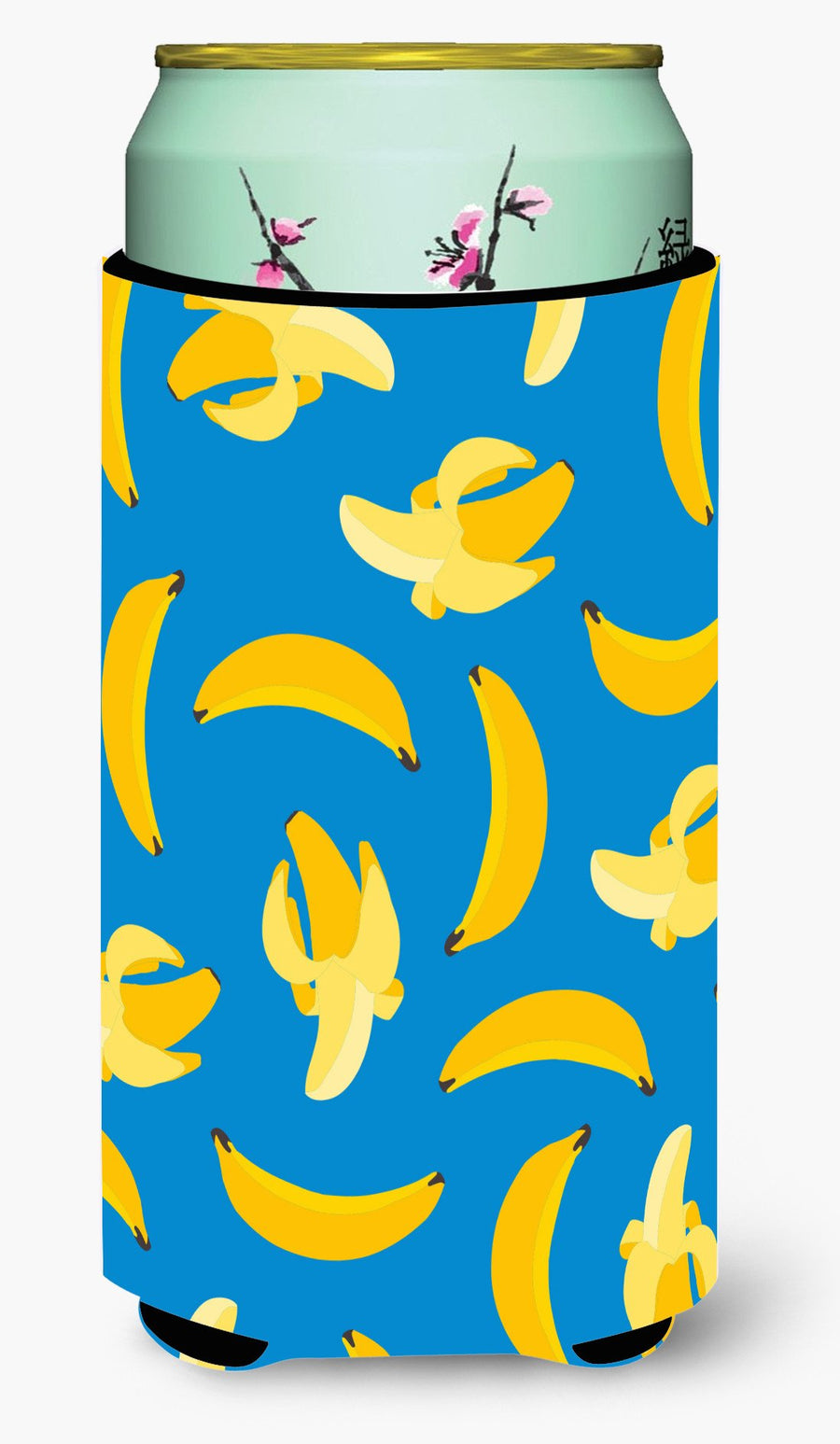Buy this Bananas on Blue Tall Boy Beverage Insulator Hugger BB5149TBC
