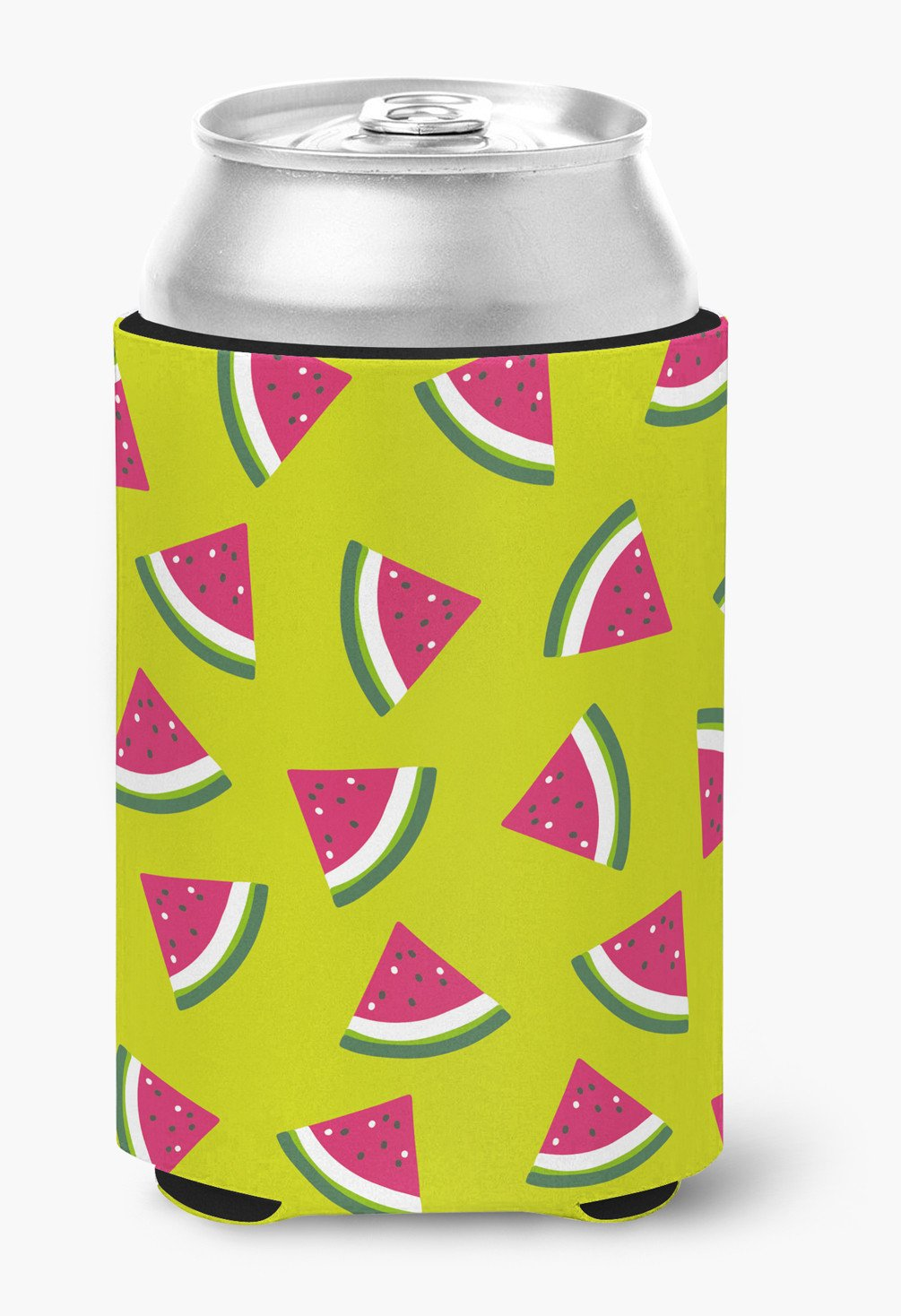 Watermelon on Lime Green Can or Bottle Hugger BB5151CC by Caroline's Treasures