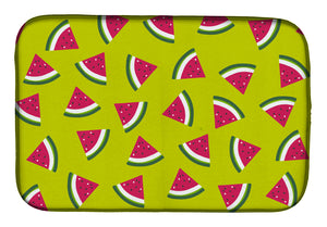 Buy this Watermelon on Lime Green Dish Drying Mat BB5151DDM