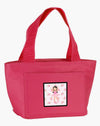 Ballerina Long Dark Hair Lunch Bag BB5181PK-8808 by Caroline's Treasures