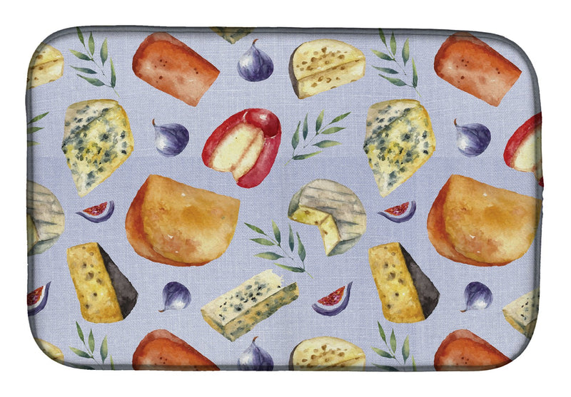 Buy this Assortment of Cheeses Dish Drying Mat BB5198DDM