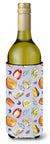 Buy this Assortment of Cheeses Wine Bottle Beverge Insulator Hugger BB5198LITERK
