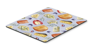 Buy this Assortment of Cheeses Mouse Pad, Hot Pad or Trivet BB5198MP