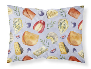 Buy this Assortment of Cheeses Fabric Standard Pillowcase BB5198PILLOWCASE