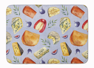 Buy this Assortment of Cheeses Machine Washable Memory Foam Mat BB5198RUG