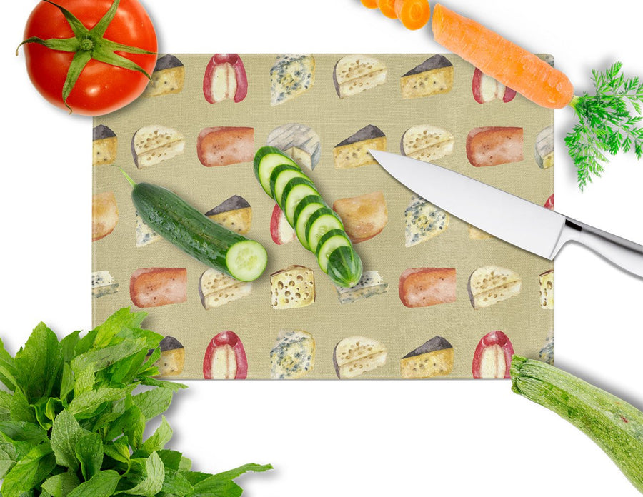 Buy this Cheeses Glass Cutting Board Large BB5199LCB