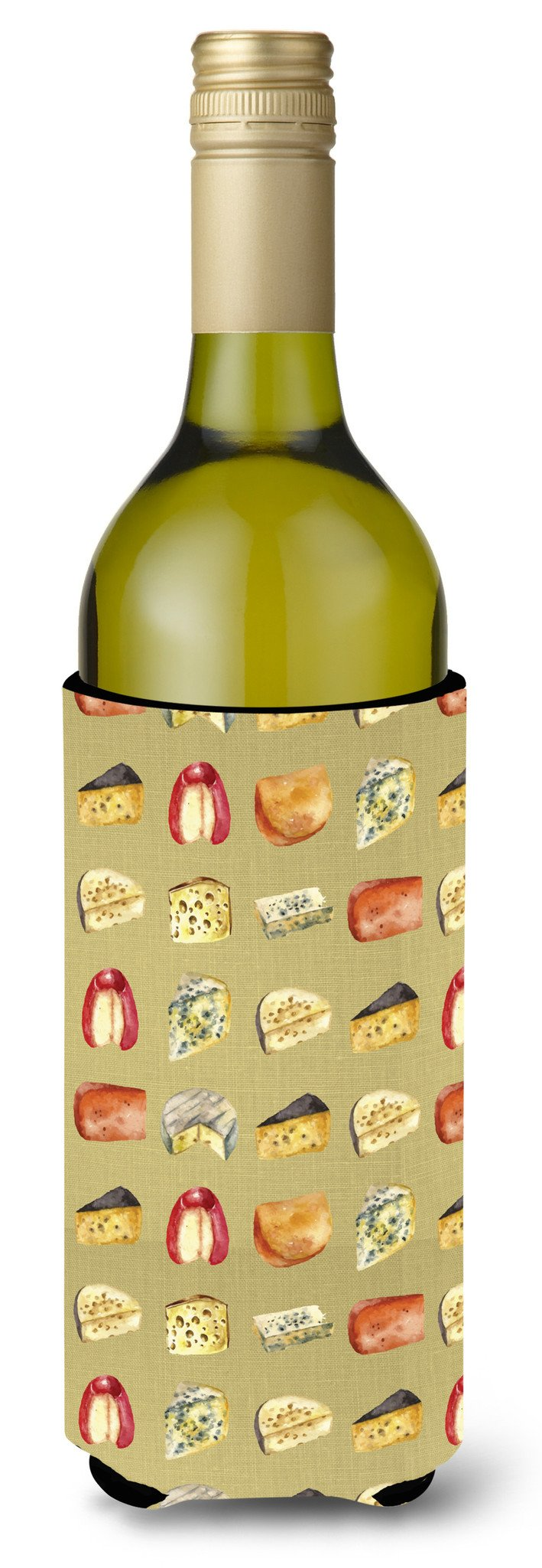 Buy this Cheeses Wine Bottle Beverge Insulator Hugger BB5199LITERK