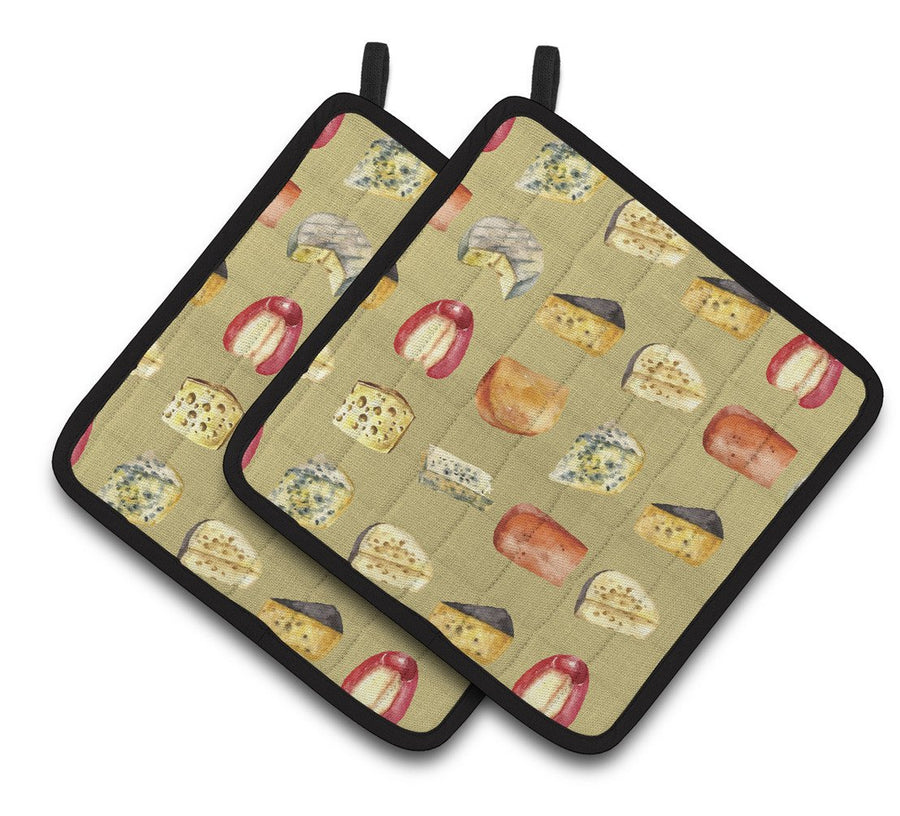 Buy this Cheeses Pair of Pot Holders BB5199PTHD