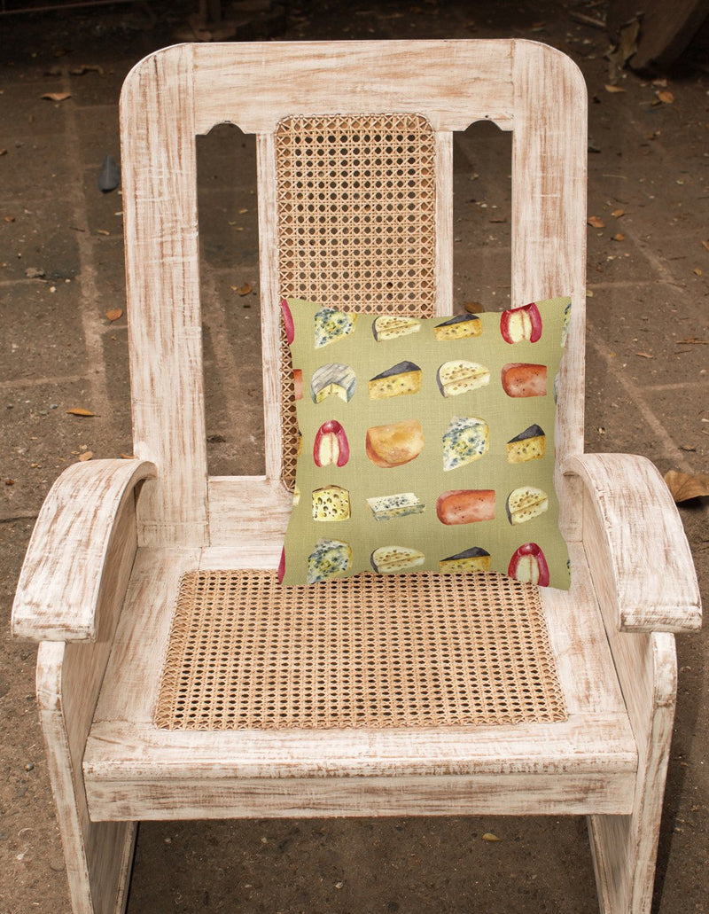 Buy this Cheeses Fabric Decorative Pillow BB5199PW1818