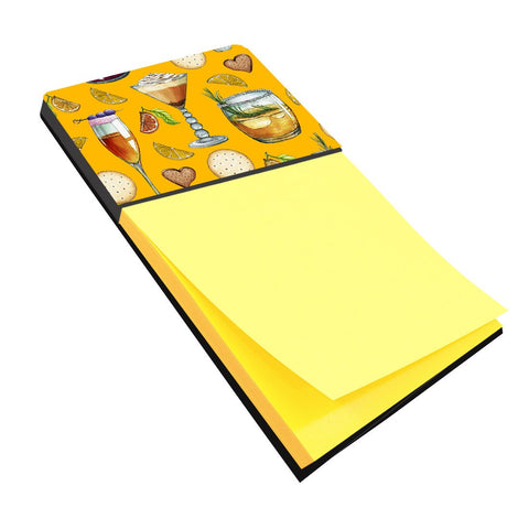 Buy this Drinks and Cocktails Gold Sticky Note Holder BB5202SN