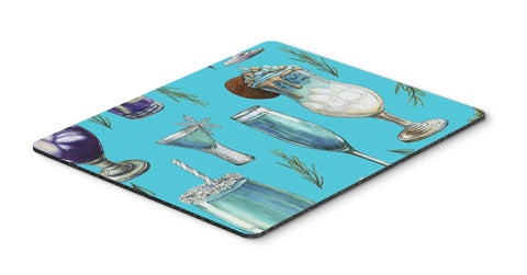 Buy this Drinks and Cocktails Blue Mouse Pad, Hot Pad or Trivet BB5203MP