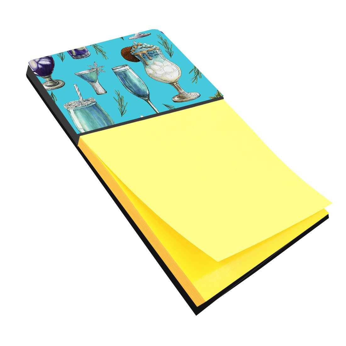 Buy this Drinks and Cocktails Blue Sticky Note Holder BB5203SN