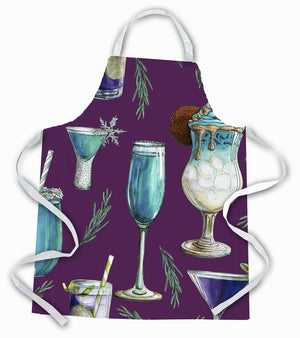 Buy this Drinks and Cocktails Purple Apron BB5204APRON