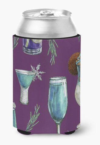 Buy this Drinks and Cocktails Purple Can or Bottle Hugger BB5204CC