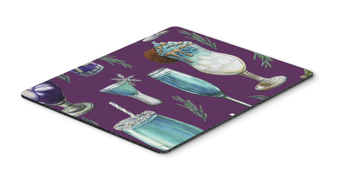 Buy this Drinks and Cocktails Purple Mouse Pad, Hot Pad or Trivet BB5204MP