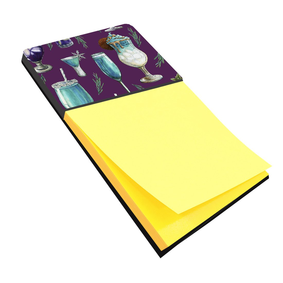 Buy this Drinks and Cocktails Purple Sticky Note Holder BB5204SN