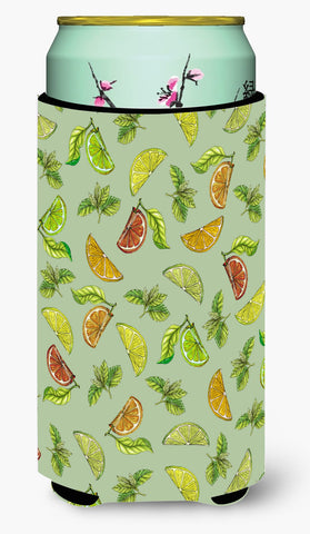 Buy this Lemons, Limes and Oranges Tall Boy Beverage Insulator Hugger BB5206TBC
