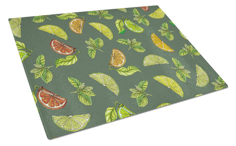 Buy this Lemons, Limes and Oranges Glass Cutting Board Large BB5207LCB