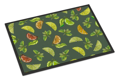 Buy this Lemons, Limes and Oranges Indoor or Outdoor Mat 18x27 BB5207MAT