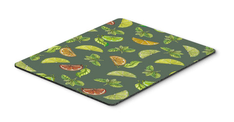 Buy this Lemons, Limes and Oranges Mouse Pad, Hot Pad or Trivet BB5207MP