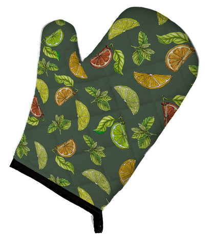 Buy this Lemons, Limes and Oranges Oven Mitt BB5207OVMT