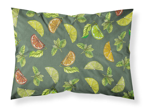 Buy this Lemons, Limes and Oranges Fabric Standard Pillowcase BB5207PILLOWCASE