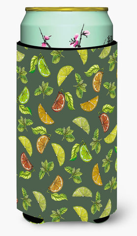 Buy this Lemons, Limes and Oranges Tall Boy Beverage Insulator Hugger BB5207TBC