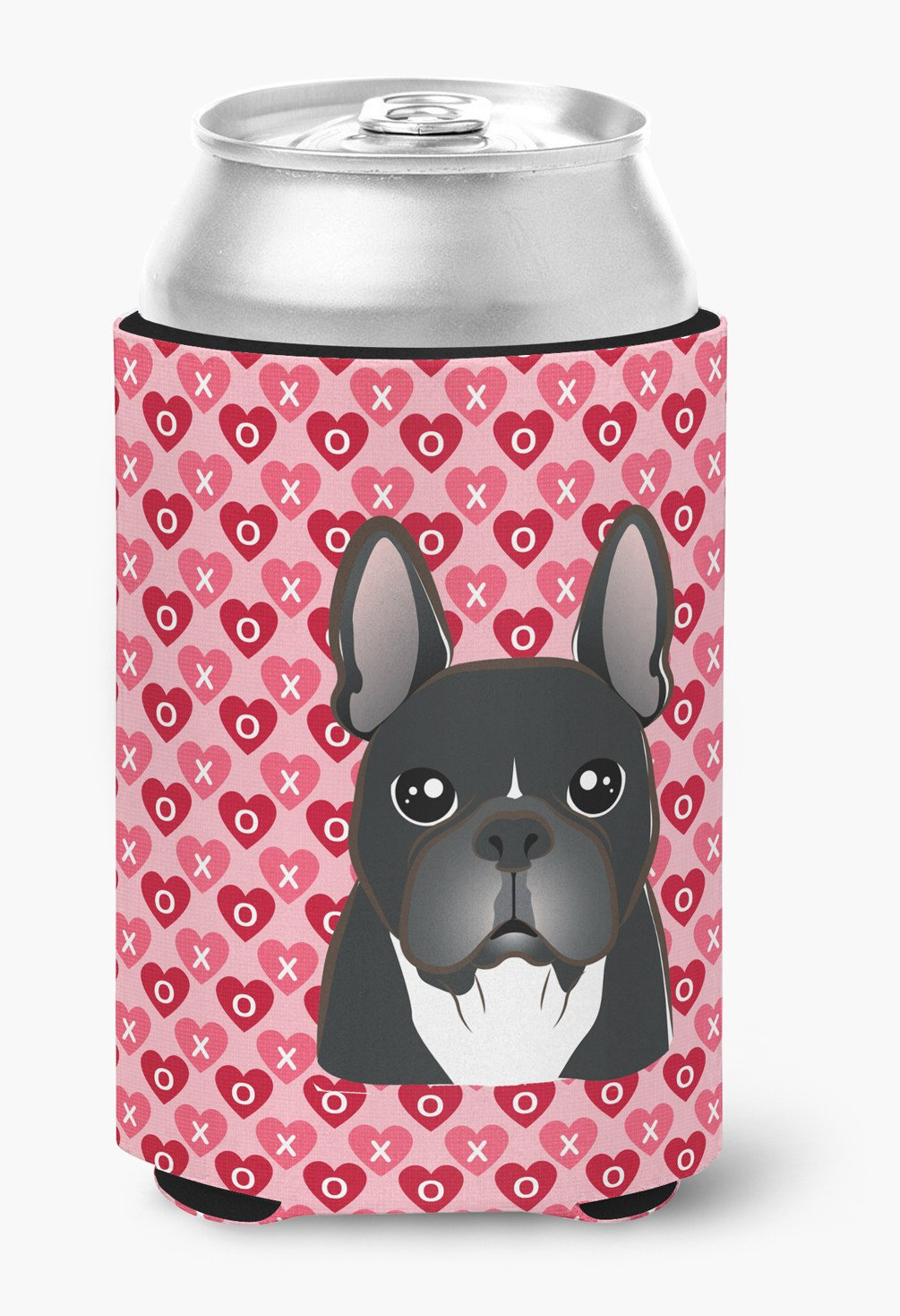 French Bulldog Hearts Can or Bottle Hugger BB5297CC by Caroline's Treasures