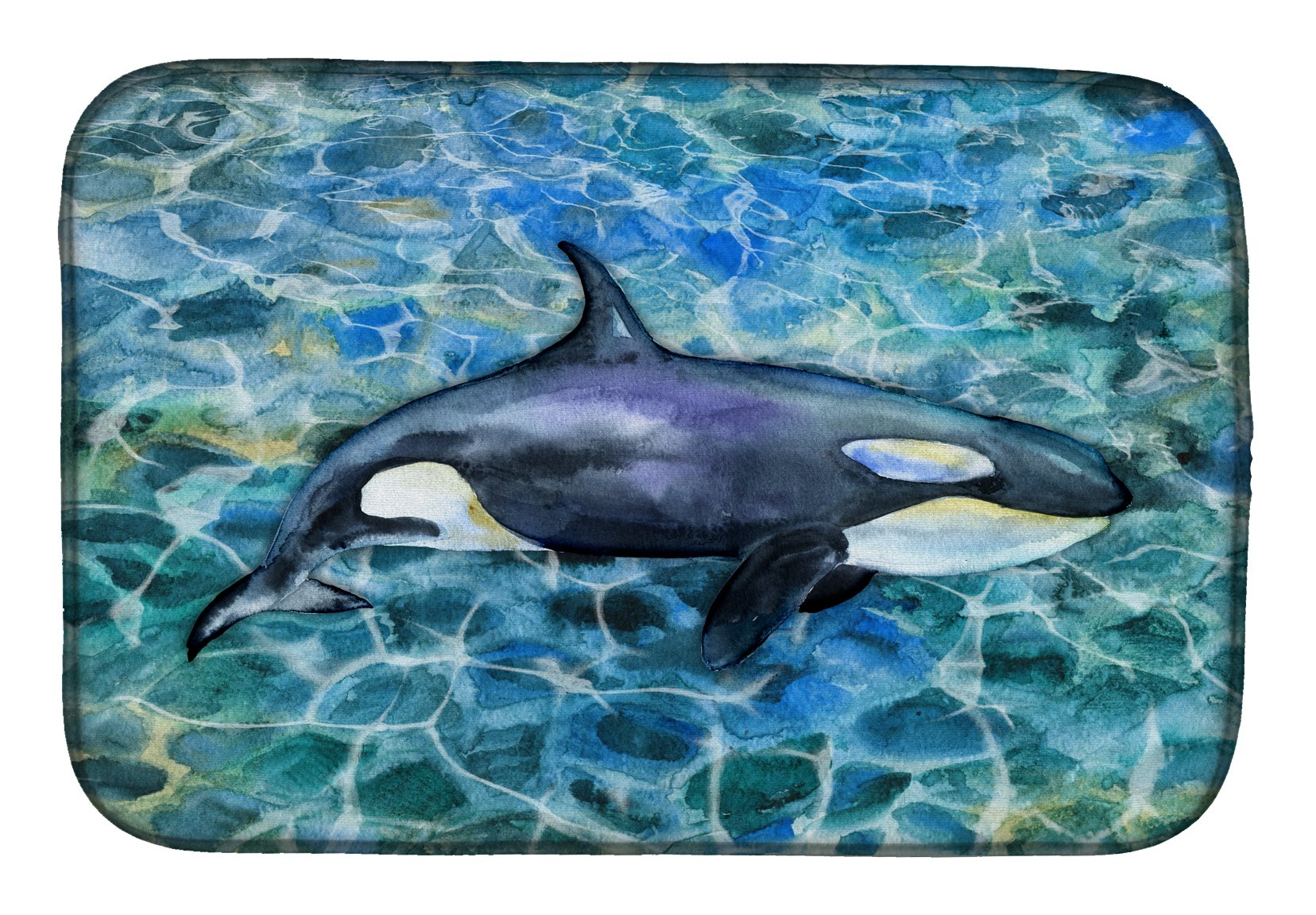 Buy this Killer Whale Orca Dish Drying Mat BB5334DDM
