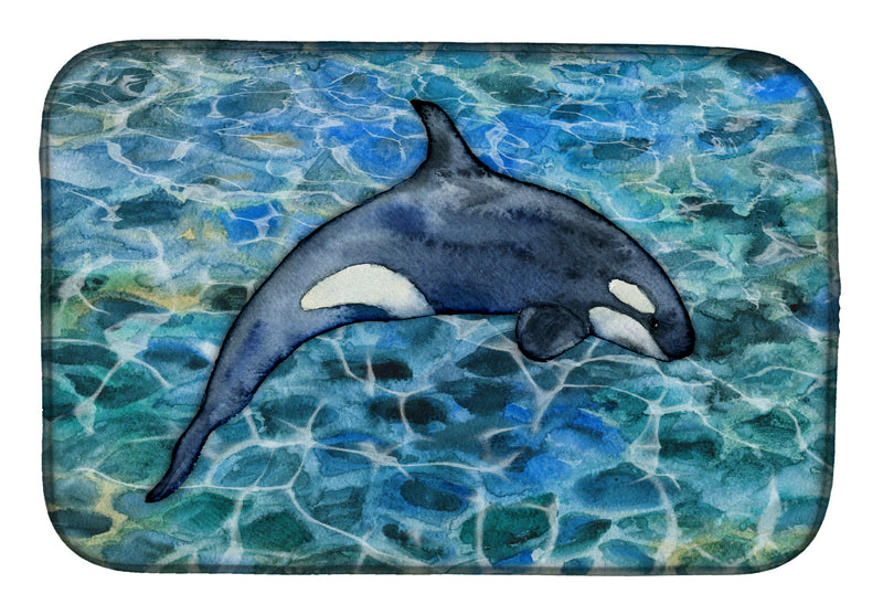 Buy this Killer Whale Orca #2 Dish Drying Mat BB5335DDM