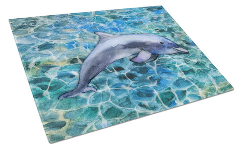 Buy this Dolphin Glass Cutting Board Large BB5339LCB