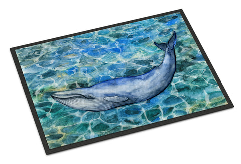 Buy this Humpback Whale Indoor or Outdoor Mat 18x27 BB5340MAT