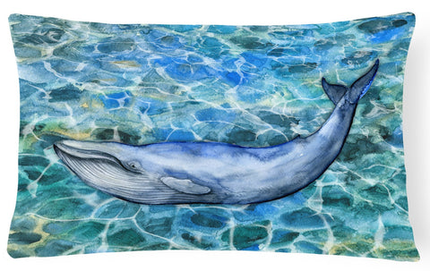 Buy this Humpback Whale Canvas Fabric Decorative Pillow BB5340PW1216