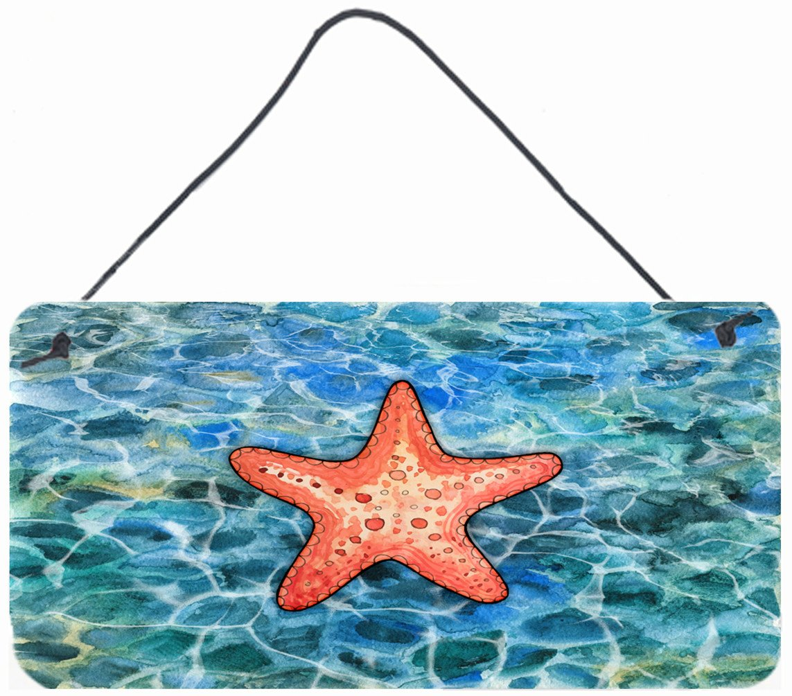 Starfish Wall or Door Hanging Prints BB5341DS812 by Caroline's Treasures