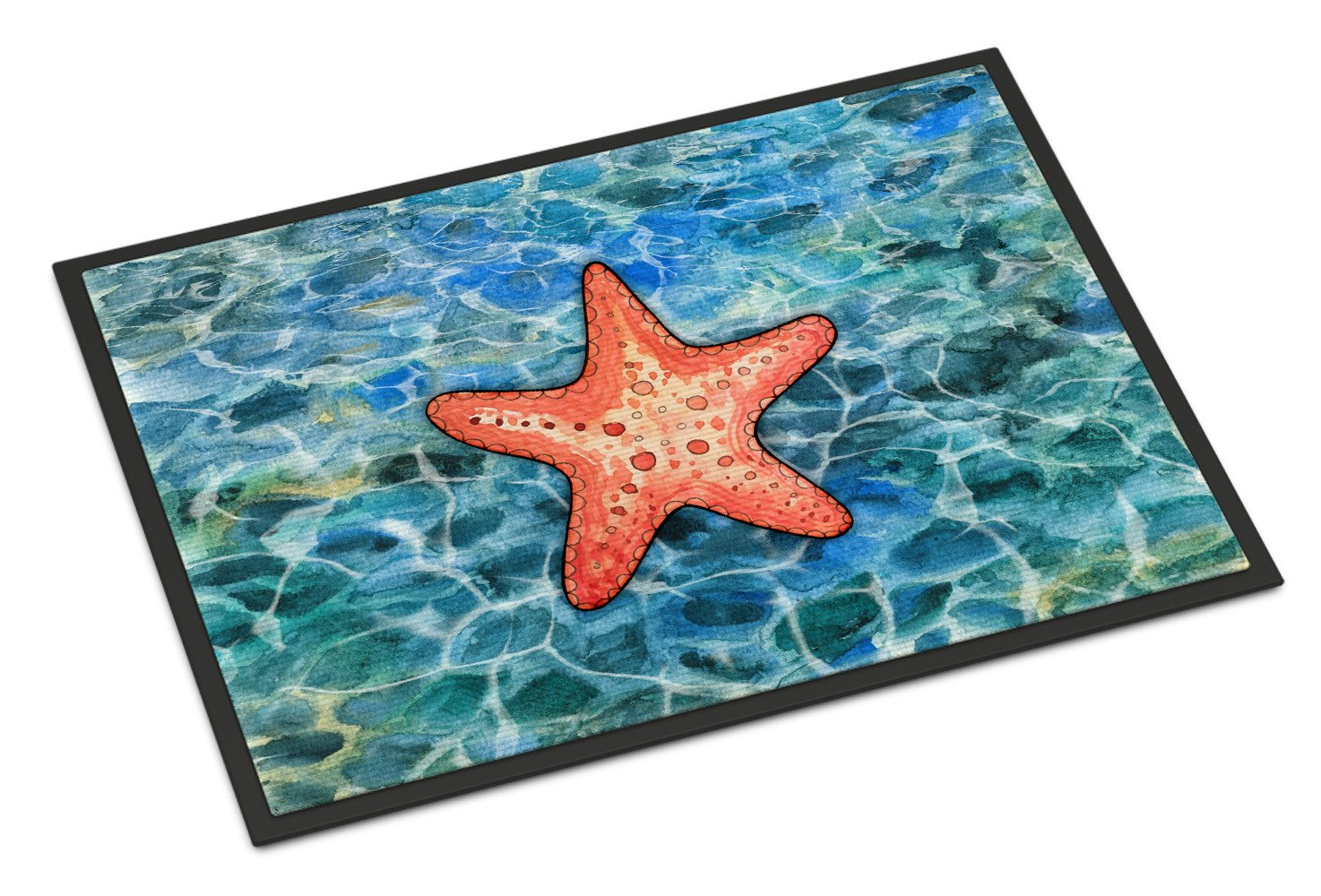 Starfish Indoor or Outdoor Mat 24x36 BB5341JMAT by Caroline's Treasures