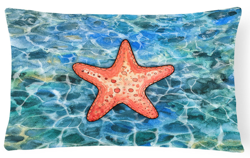 Starfish Canvas Fabric Decorative Pillow BB5341PW1216 by Caroline's Treasures