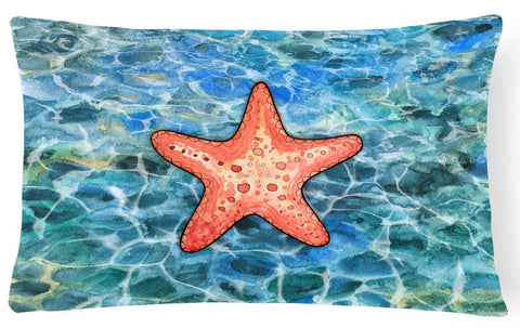 Buy this Starfish Canvas Fabric Decorative Pillow BB5341PW1216