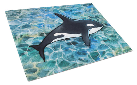 Buy this Killer Whale Orca Glass Cutting Board Large BB5348LCB