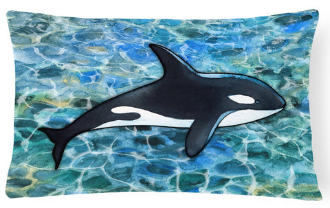 Buy this Killer Whale Orca Canvas Fabric Decorative Pillow BB5348PW1216
