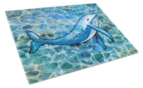 Buy this Humpback Whale Glass Cutting Board Large BB5353LCB